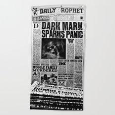 Daily Prophet newspaper  Beach Towel