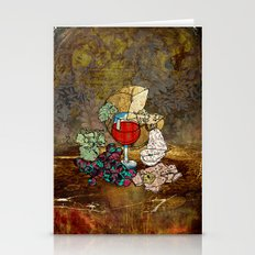 Wine Still Life Stationery Cards