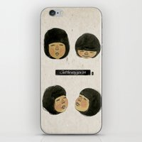 I Love Just The Way You … iPhone & iPod Skin