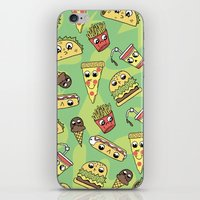 Snack Attack! iPhone & iPod Skin