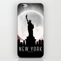 Black-White New York iPhone & iPod Skin