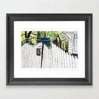 Number Eighty-five Framed Art Print