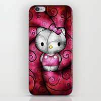 Hewo Kitteh :) iPhone & iPod Skin