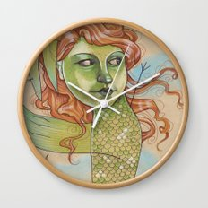 DANCING DRAGON Wall Clock