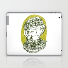 Spring Cat Lady  Laptop & iPad Skin