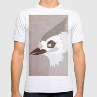 Tufted Titmouse Mens Fitted Tee Ash Grey SMALL
