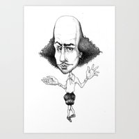 All The World's A Stage.… Art Print