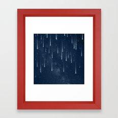 Wishing Stars Framed Art Print