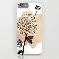 dahlias iPhone 6 Slim Case