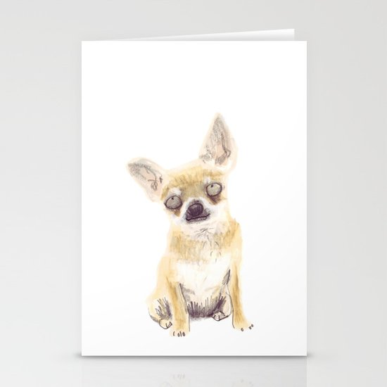 Chihuahua Stationery Card