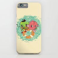 The Pond Lovers - Mr. Froggy and Ms Goldfish iPhone 6 Slim Case