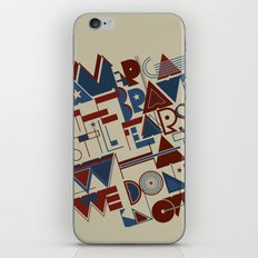 America the Brave iPhone & iPod Skin