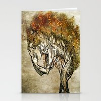 Crying Dryad Stationery Cards