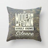 The Modern Town Throw Pillow