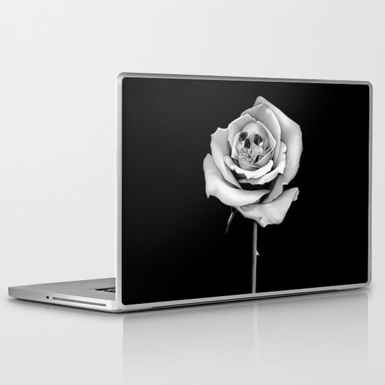 Beauty & Death Laptop & iPad Skin