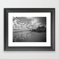 Point Roadknight Framed Art Print