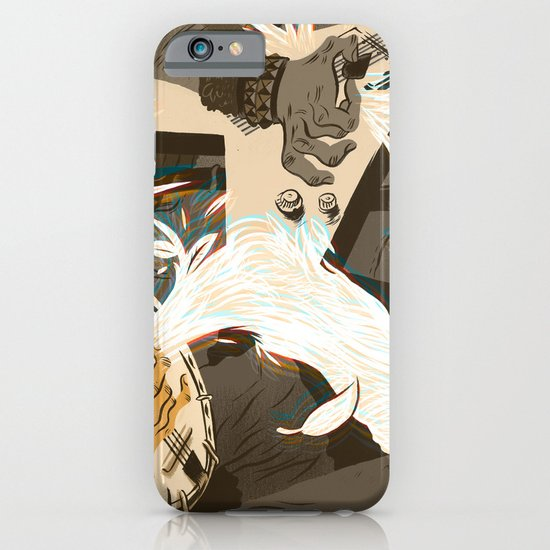 Folk vs. Metal iPhone & iPod Case