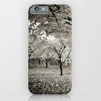 Wind and Leaves - B&W iPhone 6 Slim Case