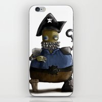 Iso, The Fat Captain iPhone & iPod Skin
