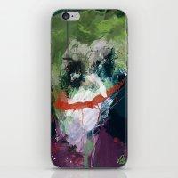 A Joker Painting iPhone & iPod Skin