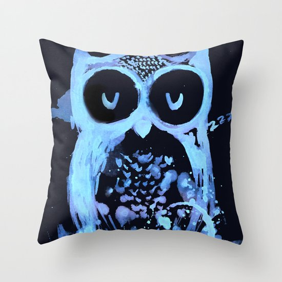 Too Early Bird Throw Pillow
