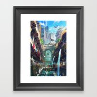 Royal City Escadia  Framed Art Print