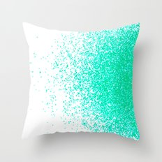 fresh mint flavor Throw Pillow