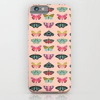 iPhone Cases featuring Lepidoptery No. 1 by Andrea Lauren  by Andrea Lauren Design