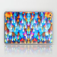 Colorful digital art splashing G397 Laptop & iPad Skin