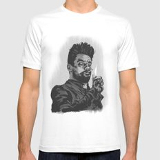 Jesse Custer Preacher Mens Fitted Tee SMALL White