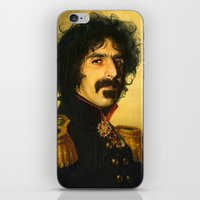 Frank Zappa - Replacefac… iPhone & iPod Skin