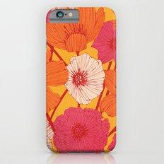 Summer Flowers Slim Case iPhone 6s