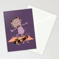 Hipster Monster Stationery Cards