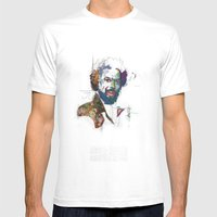 Gill Scott Heron Mens Fitted Tee White SMALL