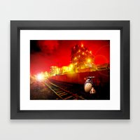 Miracles of Modern Science Framed Art Print