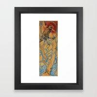 Oh, Venerable Wise Crow Framed Art Print