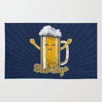 Beer Hugs Rug