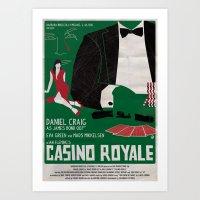 CASINO ROYALE Art Print