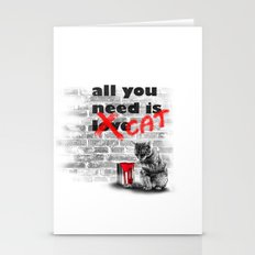 All you need is... Cat Stationery Cards