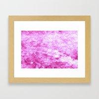Hot Pink  - JUSTART © Framed Art Print