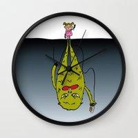 5 O'clock Shadow Wall Clock