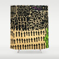 Africa 2 Shower Curtain