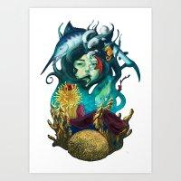 Deep Concious Art Print