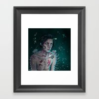 I'm Rotting Alone  Framed Art Print
