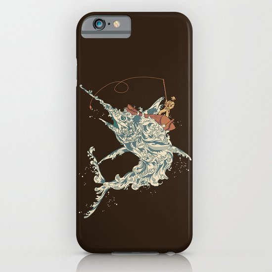 Cold Blooded Ocean iPhone & iPod Case