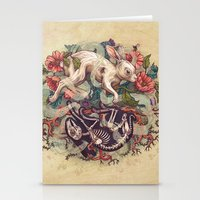 Dust Bunny Stationery Cards