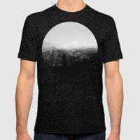 Yosemite x Glacier Point Mens Fitted Tee Tri-Black SMALL