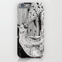polar bear iPhone & iPod Cases featuring Polar Bear by Meredith Mackworth-Praed