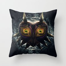 Epic Pure Evil of Majora's Mask Throw Pillow