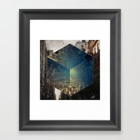 To Ask the Question Framed Art Print